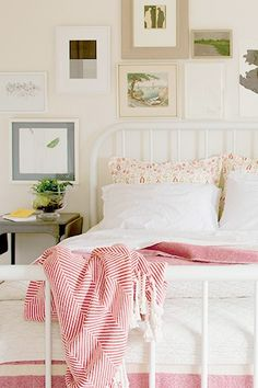 18 Perfect Home Textiles To Brighten Up Your Life! #refinery29  http://www.refinery29.com/textiles#slide-7  Brahms Mount Cotton Herringbone Throw, $235, available at School House Electric & Supply Co. ...