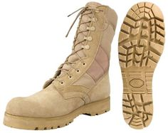 "Desert Tan -Sierra Lug Sole Military Desert Boots (Leather), 8"" 5257 Size 12R Army Universe,  MEN'S FASHION  to buy just click on amazon here  http://www.amazon.com/dp/B000N48WL2/ref=cm_sw_r_pi_dp_aKNpsb0E9HCTB30C"