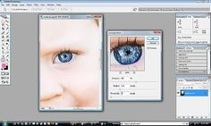 Photoshop Eye popping tutorial