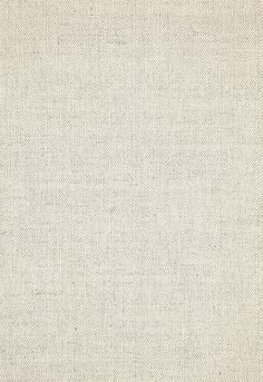 Wallcovering / Wallpaper | Rainier Linen Weave in Linen | Schumacher -White Linen Interiors Miami