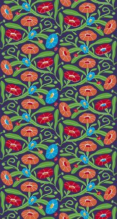 Marimekko Spring 2010 Lomapäivä Fabric by Heikki Orvola