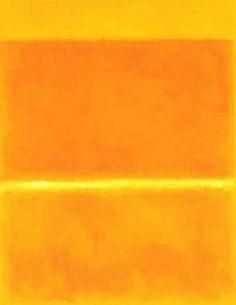 Mark Rothko, Saffron, 1957 - Yellow in Art Mark Rothko, Rothko Art, Willem De Kooning, Yellow Art, Mellow Yellow, Mustard Yellow, Orange Art, Yellow Painting, Color Yellow