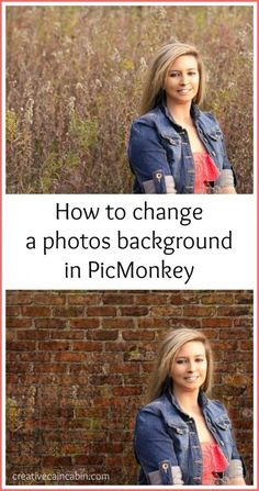 How to use Textures in PicMonkey to Change the Background of a Photo | creativecaincabin.com