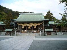 Miyajidake Shrine (宮地嶽神社), Fukutsu, Fukoka Prefecture, Japan - Found via Buzzfeed