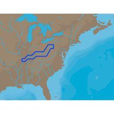 C-MAP NT+ NA-C039 - Ohio River Cairo Pittsburgh - C-Card - https://www.boatpartsforless.com/shop/c-map-nt-na-c039-ohio-river-cairo-pittsburgh-c-card/