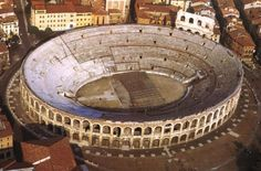 Panorama of the city of Verona Italy wallpapers and images