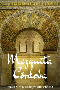 The Mezquita in Cordoba is one of the most beautiful buildings in the world. Learn everything about its history, why you should visit this UNESCO World Heritage site and how to do it. Spain And Portugal, Portugal Travel, Spain Travel Guide, European Travel, Travel Europe, Places In Spain, Portuguese Culture, Barcelona Travel, Andalusia