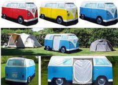 VW Campervan Tent - Million Ideas Club | Million Ideas Club
