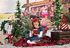 Winter Stand - Photography backdrop only available at Baby Dream Backdrops.