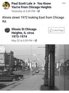 Free Genealogy Search, Chicago Heights, Illinois, History, Usa, Street, Historia, Walkway, U.s. States