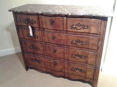 Granite top chest made by Century Furniture