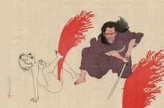 Toshio Saeki : Au sévice de l'art | Tracks ARTE