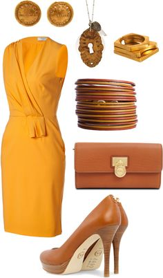 """gold and bronz"" by schrodinger on Polyvore"