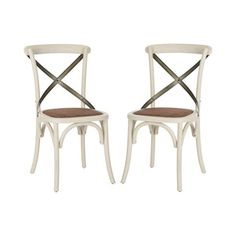 Muncie Dining Chair - Set of 2 in Ivory