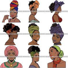Hair Wrap Scarf, Hair Scarf Styles, Curly Hair Styles, Natural Hair Styles, Scarf Hairstyles, African Hairstyles, Black Women Hairstyles, Protective Hairstyles For Natural Hair, Pelo Afro