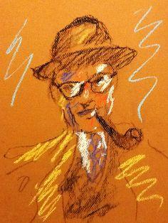 Book Illustration  Arthur Miller by DANJOYCEartworks on Etsy
