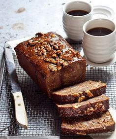 Spiced coffee and date loaf + sticky chocolate gingerbread