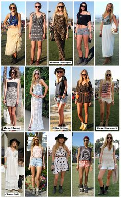 Coachella styles! We're on the same page with these styles. Check out lmnmnt.com to get the latest festie fashion