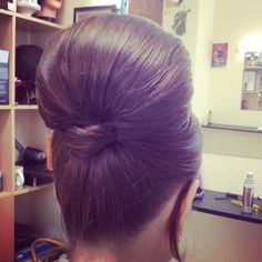 updo beehive with a modern twist