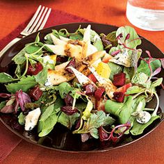 Prep: 15 minutes; Cook: 90 minutes. You can roast the beets up to 2 days before assembling salad.