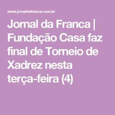 Jornal da Franca | Fundação Casa faz final de Torneio de Xadrez nesta terça-feira (4)