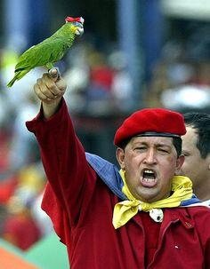 Hugo Chávez en aquellos tiempos que NO volveran!!