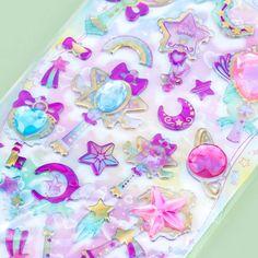 Stationery Craft, Kawaii Stationery, Kawaii Stickers, Cute Stickers, Kawaii Gifts, Kawaii Things, Kawaii Stuff, Alice Anime, Unicorn Rooms