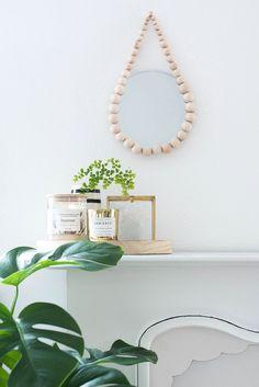 DIY Raindrop Mirror