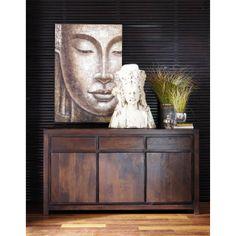 commode 6 tiroirs en sheesham massif commode en bois maison du monde et commodes. Black Bedroom Furniture Sets. Home Design Ideas