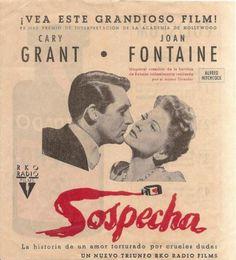 Programa de cine antiguo
