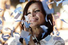 16: Argentina's President Cristina Fernandez. REUTERS/Bruno Domingos