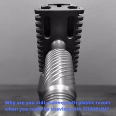 Our stainless steel safety razors are made in the USA. CNC machining, and polishing by hand, results in the best shaving safety razors in the world. Best Shave, Safety Razor, Get One, Shaving, Saving Money, Environment, Plastic, Steel, Luxury