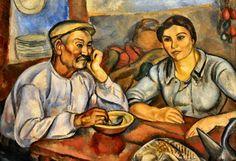 Museu Nacional d'Art de Catalunya  JOAQUIM SUNYER - Lunch, 1915
