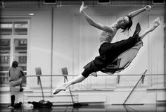 Osipova doing one of her beautiful leaps...