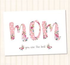 Mother's day card FREE printable. Surprise your mom with a cute card on her special day. #mothersday #mom  www.sprinkleofcinnamon.com