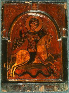 Byzantine Icons, Orthodox Icons, Saint George, Illuminated Manuscript, Art And Architecture, Impressionist, Medieval, Saints, Images