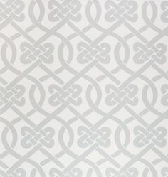 Knotted Wallpaper Sheet, Frost - contemporary - wallpaper - Kimberly Lewis Home