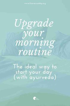 Do you need inspiration to start your day right? Ayurveda has some solutions to learn a good morning routine before work. Kickstart your day with some fresh ayurveda morning rituals. Morning Yoga Routine, Night Routine, Miracle Morning, Morning Ritual, Kindergarten Morning Routines, Ayurveda Yoga, How To Get Better, Work Stress, Stressed Out