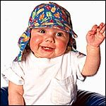 6 baby hat patterns (some adorable sunhats, plus this mullet hat)