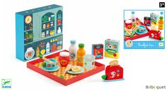 Breakfast Time Wooden Toy for pretend play Djeco - Your search: djeco