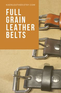 Are you tired of belts that don't last? Try full grain leather belts handmade by an Amish leather craftsman. Leather Belts, Leather Men, Men's Belts, Fashion Belts, Men's Fashion, Wedding Accessories, Men's Accessories, Amish, Etsy Handmade