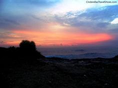 Sunset from Dream beach in Lembongan