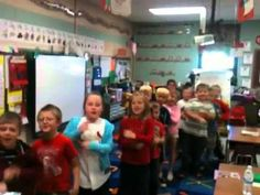 "SHHHH....""line up"" chants for transitions in the classroom.  VERY cool!"