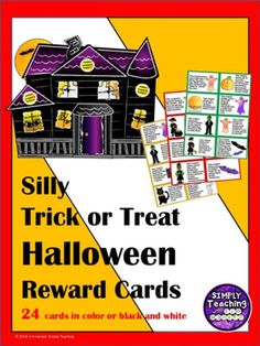 Sweet and Silly Trick or Treat Halloween Classroom Reward Coupons Seasons Activities, Holiday Activities, Activities For Kids, Classroom Reward Coupons, Elementary Teacher, Halloween Treats, Teacher Resources, Trick Or Treat, Kindergarten