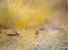 Pierre-Auguste Renoir (1841-1919) - View of Venice, Fog, 1881
