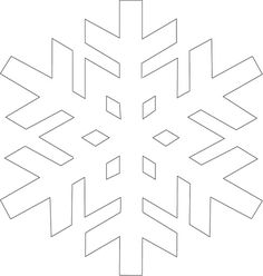 Snowflake template