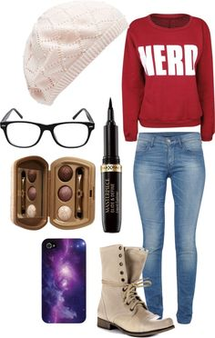 """""""college life"""" by kaylabosh on Polyvore  (I'd wear converse or Keds or Toms instead...)"""