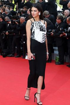 The absolute best of Cannes red carpet fashion: Kendall Jenner in Chanel in 2014.