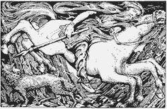 Odin Leads the Wild Hunt