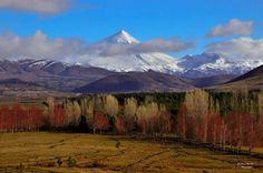 Volcán Lanin, Junín de Los Andes, Argentina
